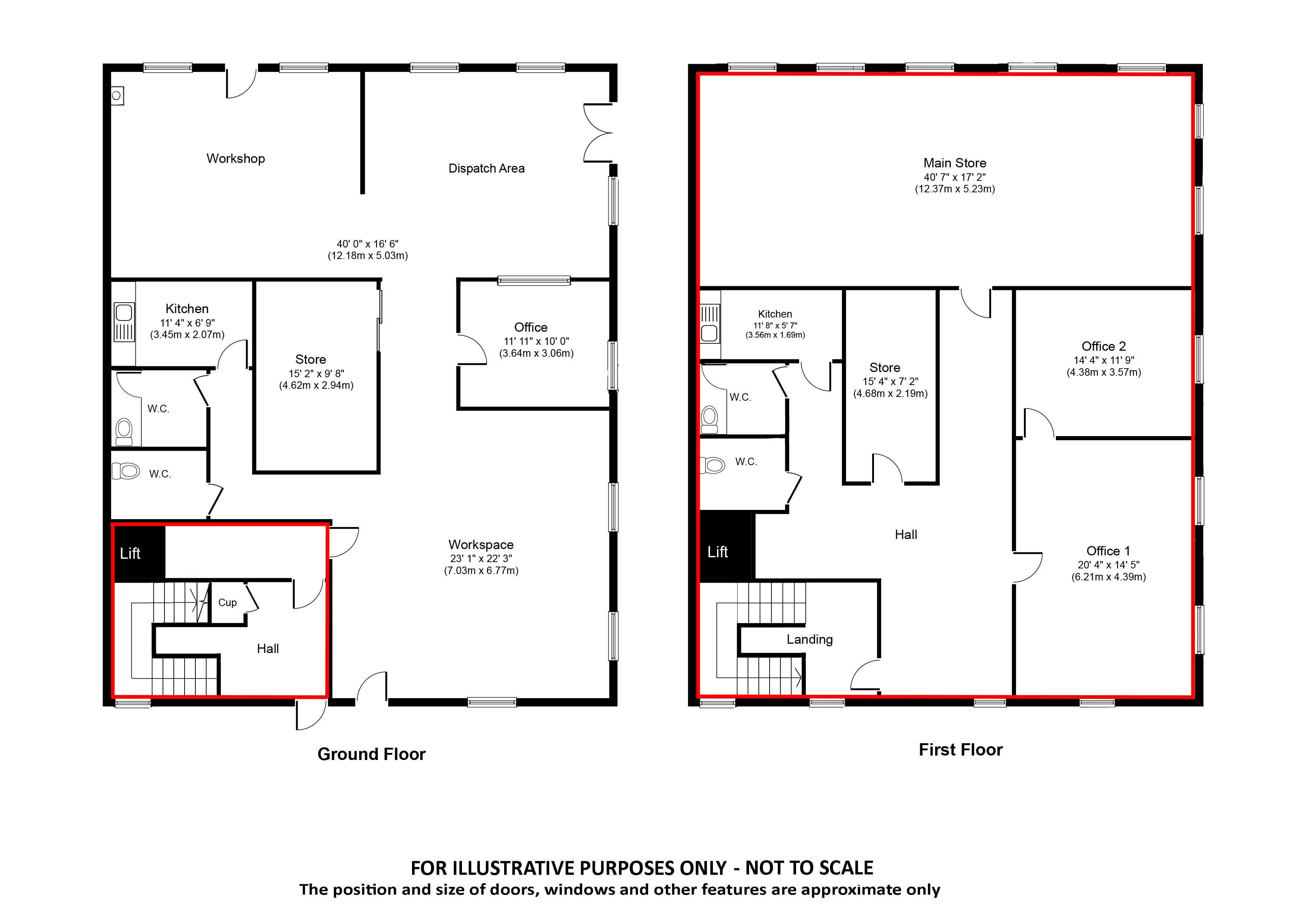 Unit 7 And 7a Elm Court Walker Scott Ireland 4 Light Wiring Diagram Floorplanbrochureboundary